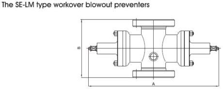 SE-LM workover bop preventer